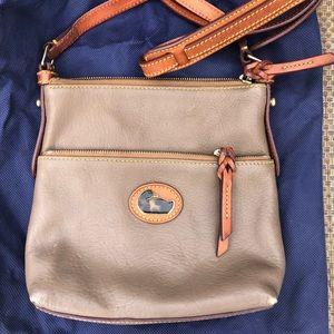 Dooney & Bourke Taupe Crossbody Bag